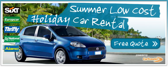 Cheap holiday car hire