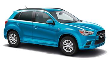 Mitsubishi range of vehicles